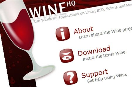 Wine (Wine Is Not Emulator) – Menjalankan program Windows (.exe) di Ubuntu/Linux