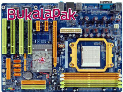 Mainboard Soket AMD AM2 Bergaransi